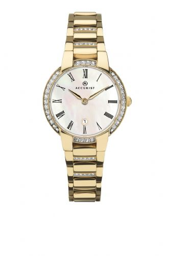 Accurist Signature Classic Women's Watch- Gold